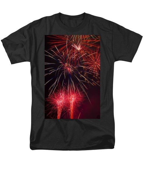 Firework Majesty  T-Shirt by Garry Gay