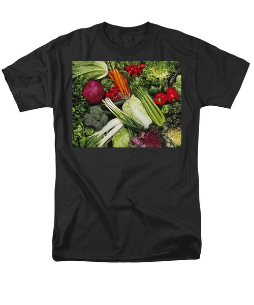 Food- Produce, Mixed Vegetables Men's T-Shirt  (Regular Fit) by Ed Young
