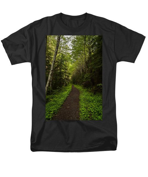 Forest Beckons T-Shirt by Mike Reid