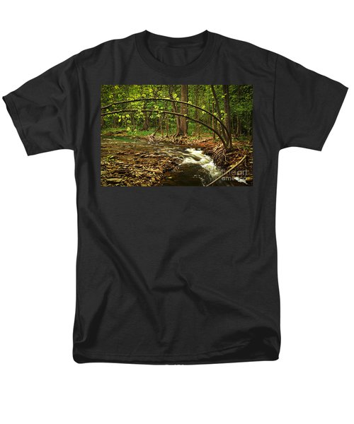 Forest river T-Shirt by Elena Elisseeva