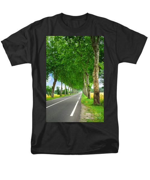 French country road T-Shirt by Elena Elisseeva