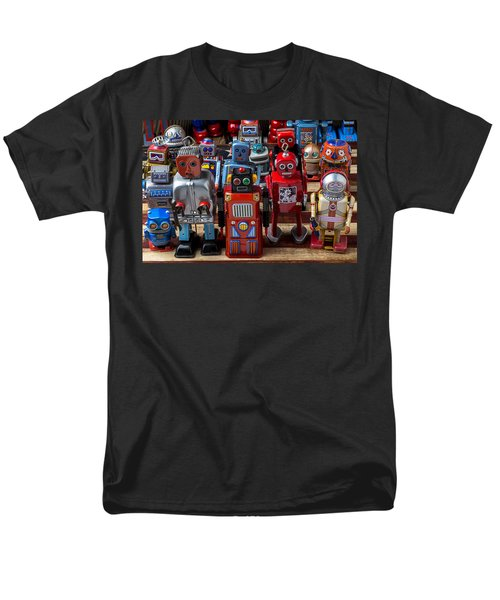 Fun toy robots T-Shirt by Garry Gay