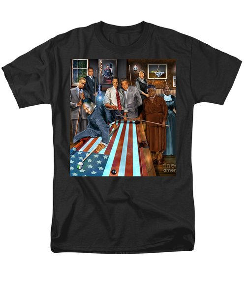 Game Changers and Table Runners P2 T-Shirt by Reggie Duffie