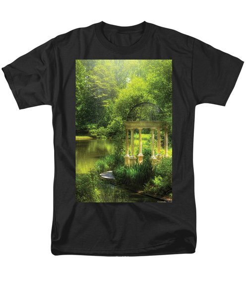 Garden - The Temple of Love T-Shirt by Mike Savad