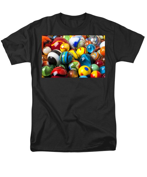 Glass marbles T-Shirt by Garry Gay