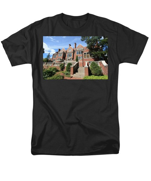 Glensheen Mansion Exterior Men's T-Shirt  (Regular Fit) by Amanda Stadther