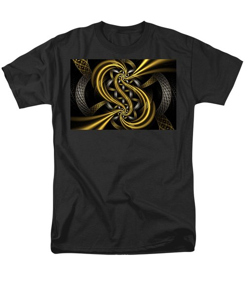Gold and Silver T-Shirt by Sandy Keeton