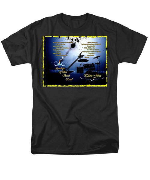 Goodbye Yellow Brick Road Men's T-Shirt  (Regular Fit) by Michael Damiani