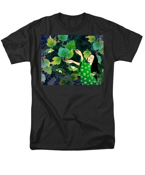 Grape Picking T-Shirt by Bedros Awak