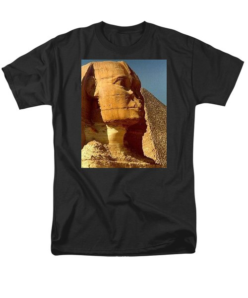 Men's T-Shirt  (Regular Fit) featuring the photograph Great Sphinx Of Giza by Travel Pics