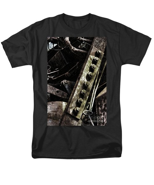 Grunge Industrial Machinery T-Shirt by Olivier Le Queinec