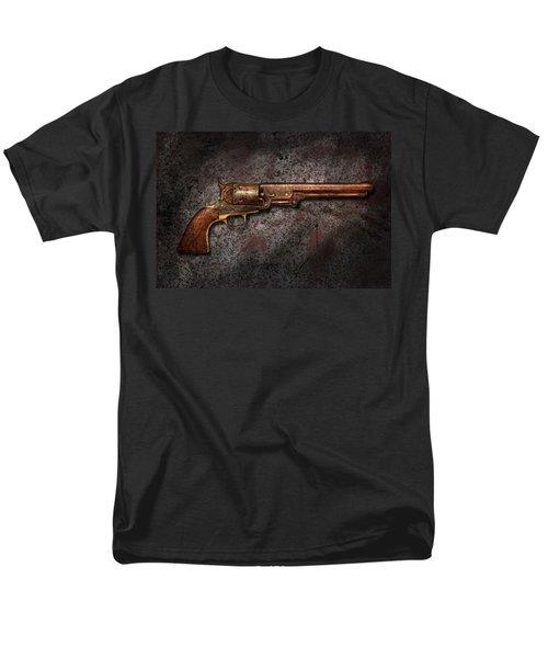 Gun - Colt Model 1851 - 36 Caliber Revolver T-Shirt by Mike Savad