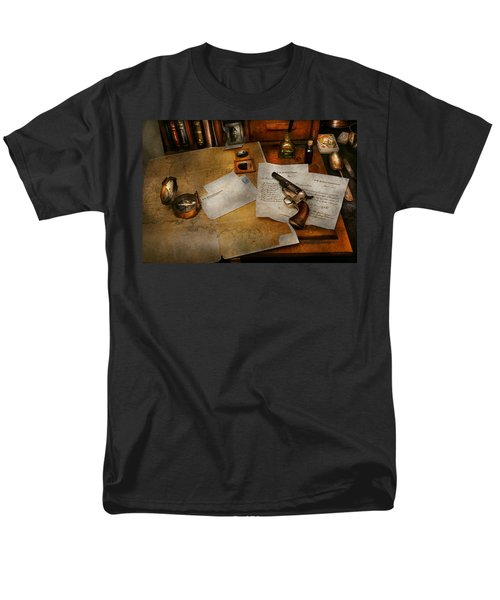 Gun - The adventure of military life  T-Shirt by Mike Savad