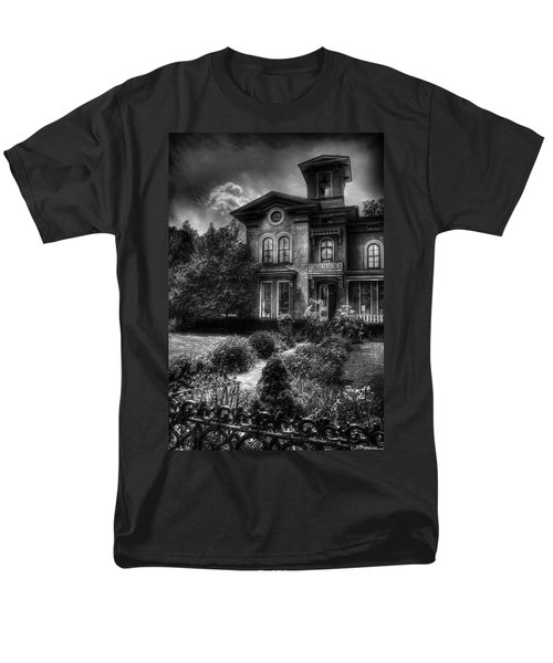 Haunted - Haunted House T-Shirt by Mike Savad