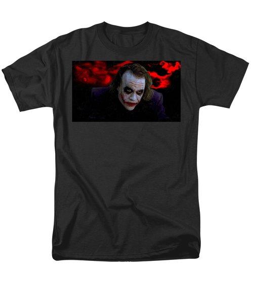 Heath Ledger As Joker Men's T-Shirt  (Regular Fit) by Image World