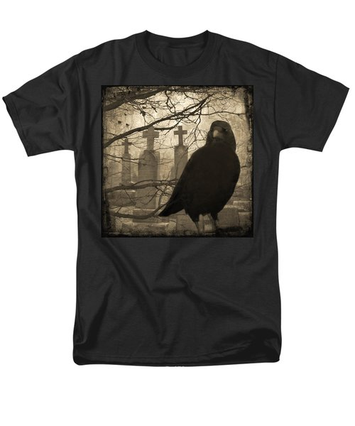 Her Graveyard Men's T-Shirt  (Regular Fit) by Gothicolors Donna