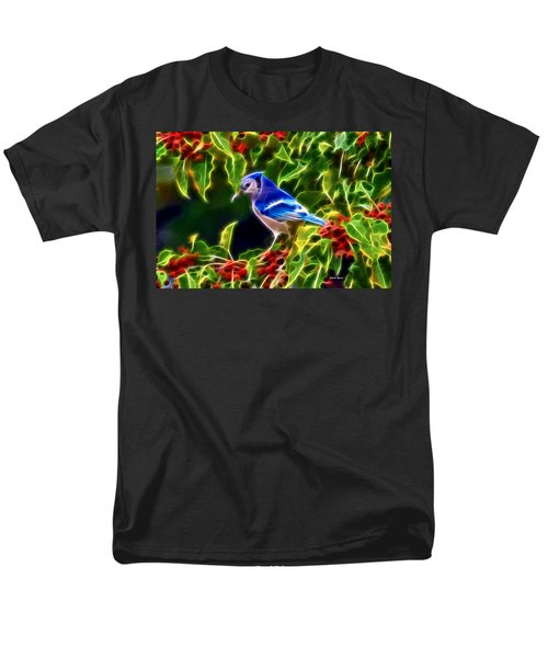 Hiding In The Berries Men's T-Shirt  (Regular Fit) by Stephen Younts