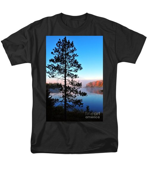Hilltop View of Stoneledge Lake T-Shirt by Terri Gostola