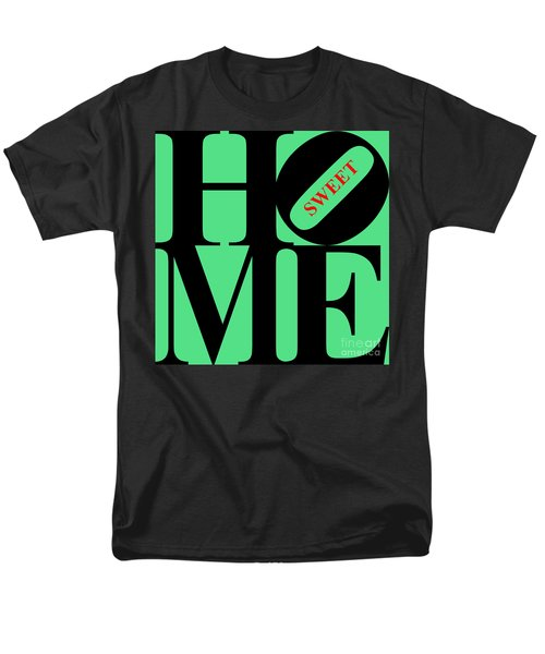 Home Sweet Home 20130713 Black Green Red T-Shirt by Wingsdomain Art and Photography