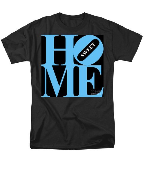 Home Sweet Home 20130713 Blue Black White T-Shirt by Wingsdomain Art and Photography
