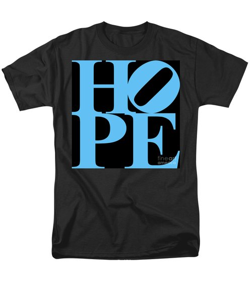 Hope 20130710 Blue Black T-Shirt by Wingsdomain Art and Photography