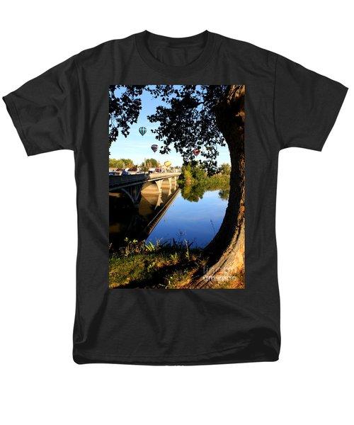 Hot Air Balloons through Tree T-Shirt by Carol Groenen