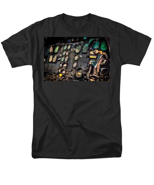 Huey Instrument Panel Men's T-Shirt  (Regular Fit) by David Morefield