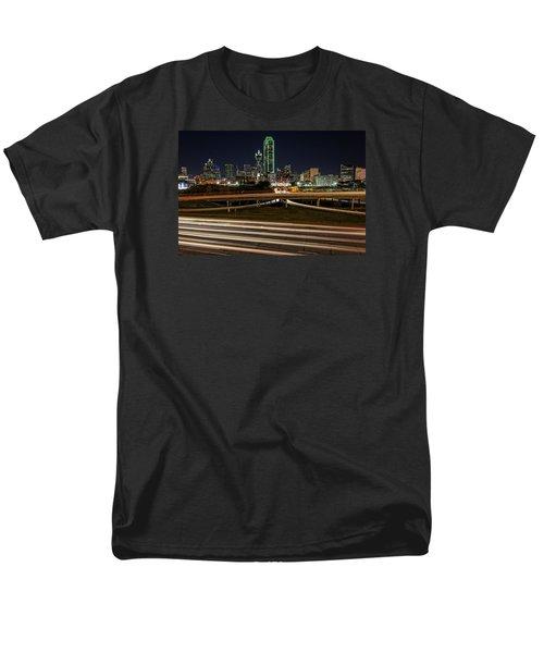 I-35e Dallas Men's T-Shirt  (Regular Fit) by Rick Berk