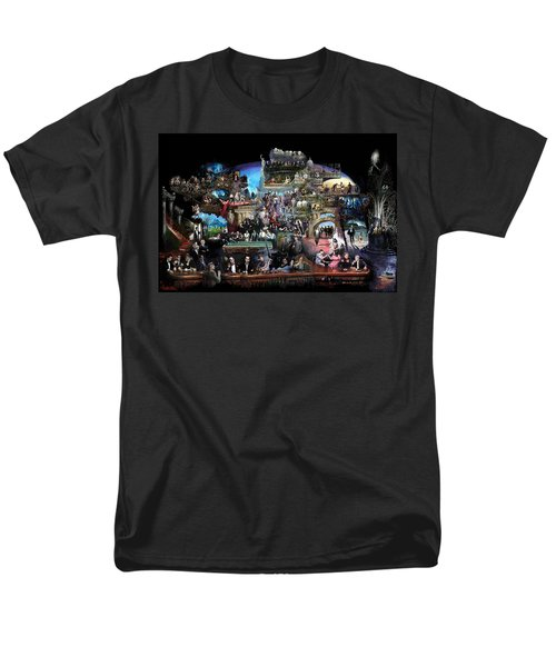 ICONS OF HISTORY AND ENTERTAINMENT T-Shirt by Ylli Haruni