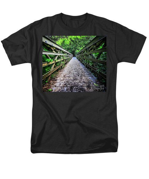 Into the Jungle  T-Shirt by Edward Fielding