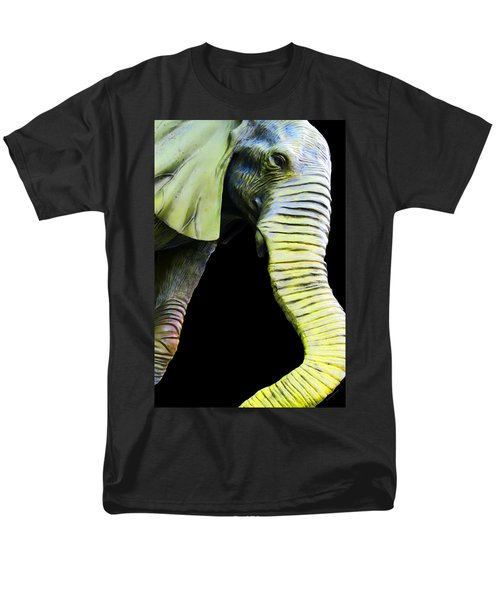 It's A Long Story - Unique Elephant Art T-Shirt by Sharon Cummings