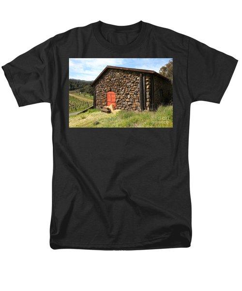Jack London Stallion Barn 5D22104 T-Shirt by Wingsdomain Art and Photography
