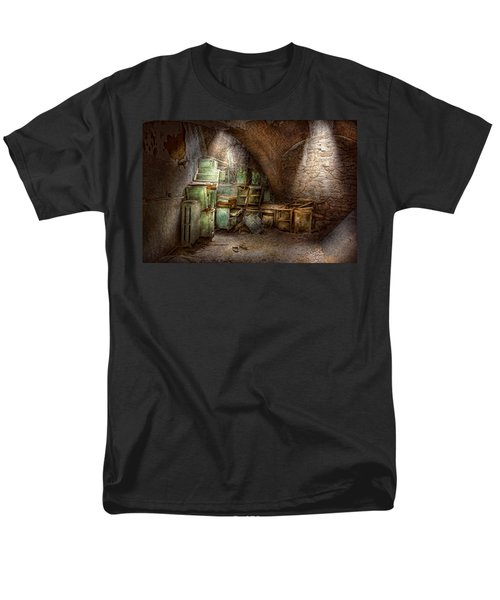 Jail - Eastern State Penitentiary - Cabinet members  T-Shirt by Mike Savad