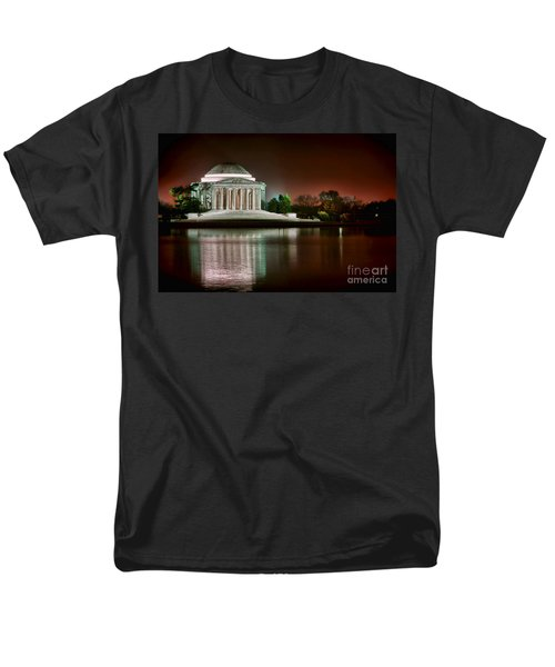 Jefferson Memorial at Night T-Shirt by Olivier Le Queinec