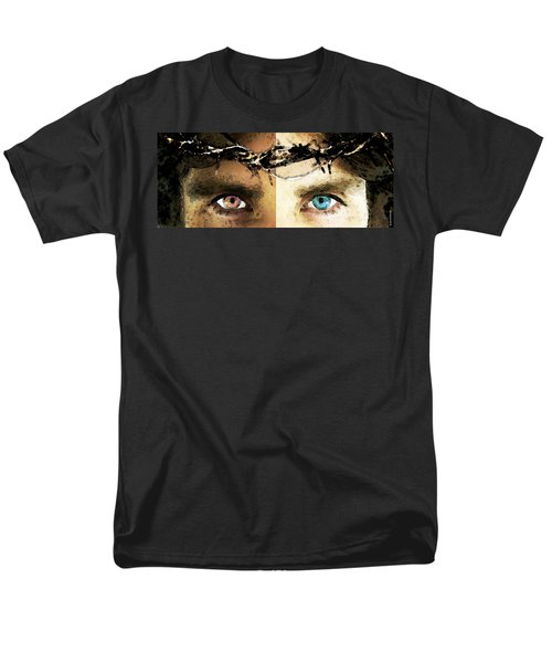 Jesus Christ - How Do You See Me T-Shirt by Sharon Cummings