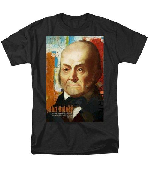 John Quincy Adams T-Shirt by Corporate Art Task Force