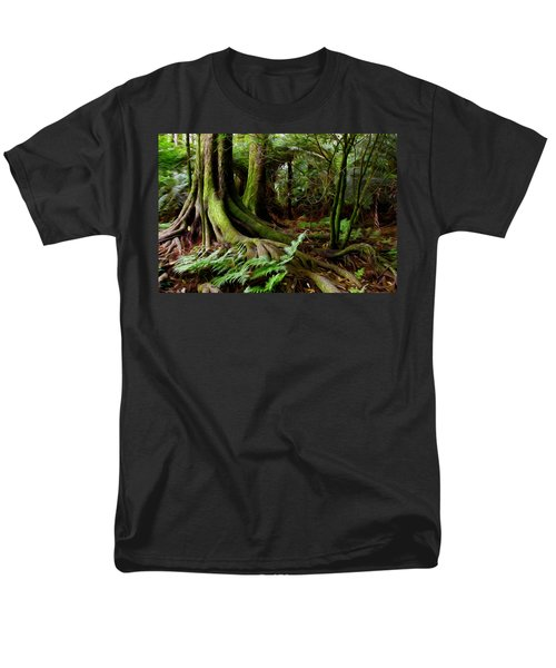 Jungle trunks2 T-Shirt by Les Cunliffe