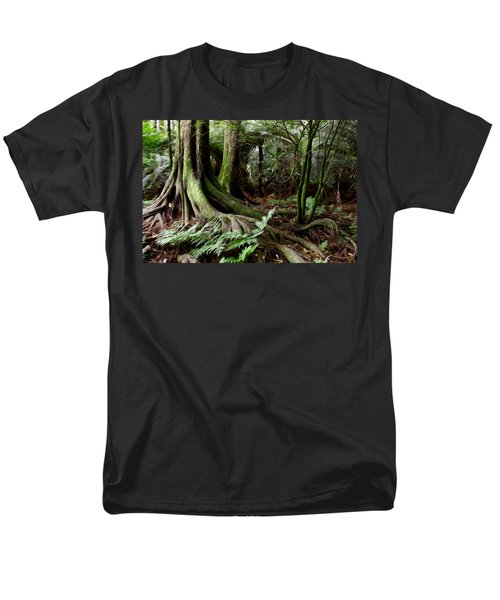 Jungle trunks3 T-Shirt by Les Cunliffe