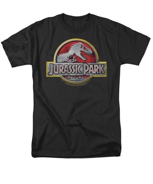 Jurassic Park - Logo Men's T-Shirt  (Regular Fit) by Brand A