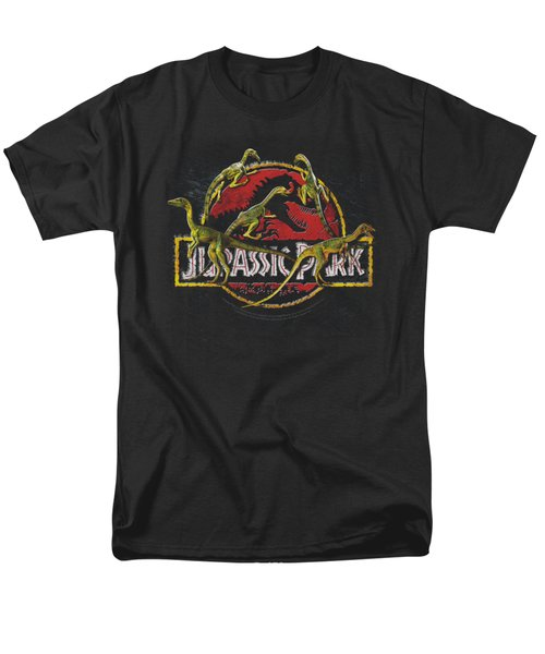 Jurassic Park - Something Has Survived Men's T-Shirt  (Regular Fit) by Brand A