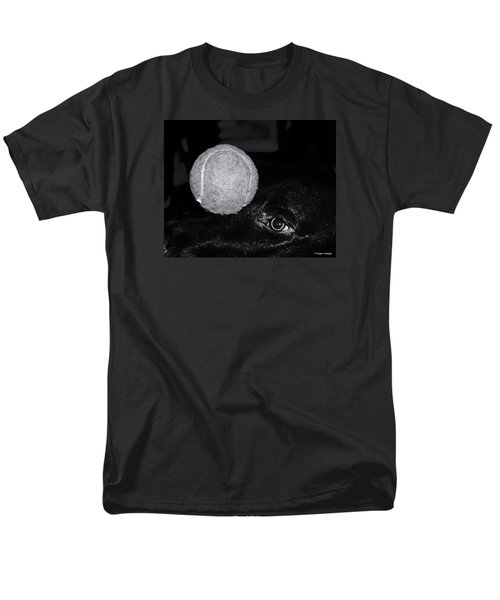 Keep Your Eye On The Ball T-Shirt by Roger Wedegis