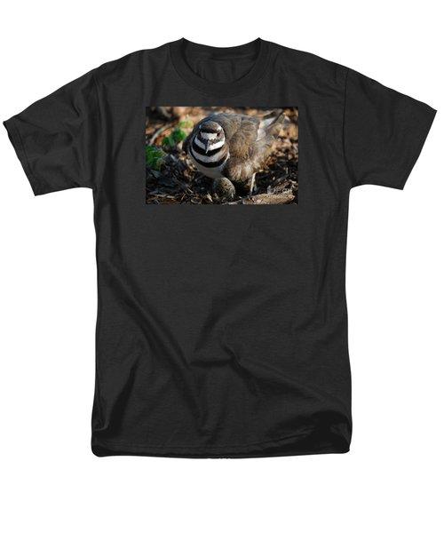 Killdeer Mom Men's T-Shirt  (Regular Fit) by Skip Willits