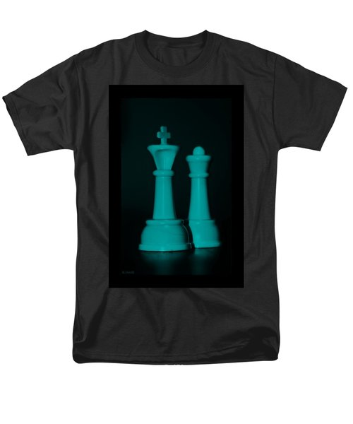 KING AND QUEEN in TURQUOIS T-Shirt by ROB HANS