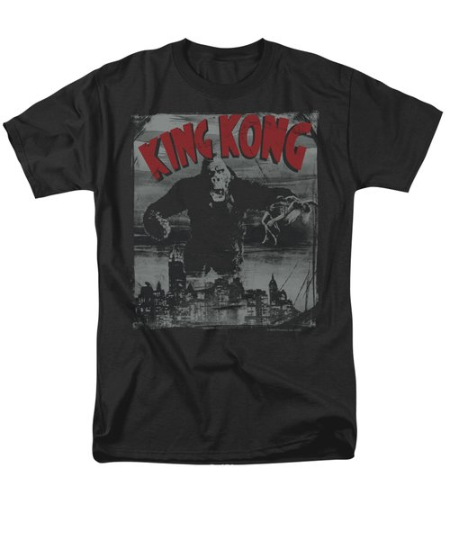 King Kong - City Poster Men's T-Shirt  (Regular Fit) by Brand A
