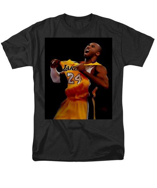 Kobe Bryant Sweet Victory Men's T-Shirt  (Regular Fit) by Brian Reaves