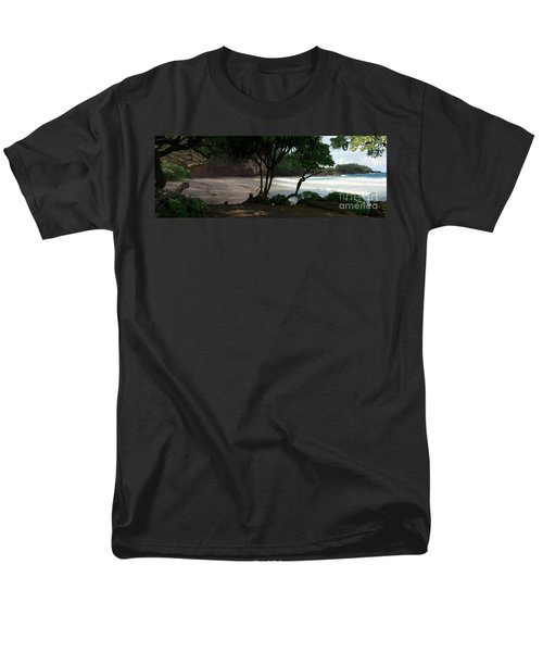 Koki Beach Hana Maui Hawaii Men's T-Shirt  (Regular Fit) by Sharon Mau