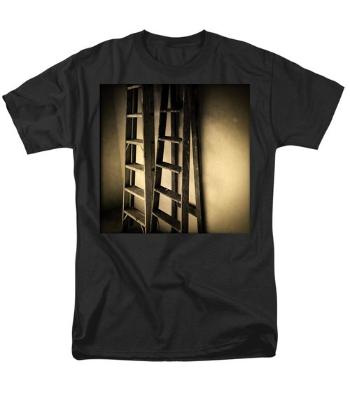 Ladders T-Shirt by Les Cunliffe