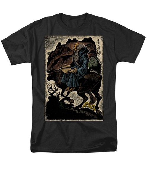 Men's T-Shirt  (Regular Fit) featuring the photograph Laozi, Ancient Chinese Philosopher by Science Source