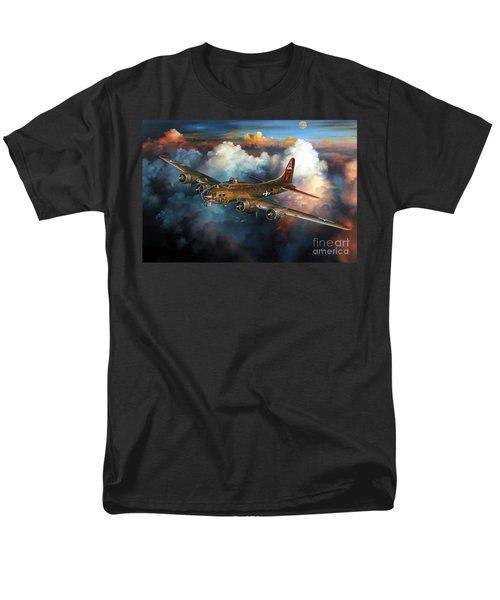Last Flight For Nine-o-nine Men's T-Shirt  (Regular Fit) by Randy Green