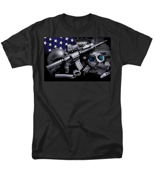 Law Enforcement Tactical Sheriff T-Shirt by Gary Yost
